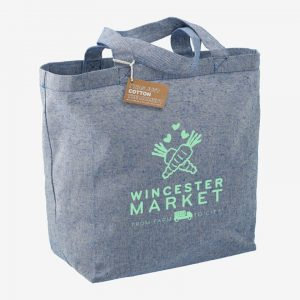 Cotton Twill Grocery Tote