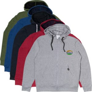 Hoodies made from recycled materials