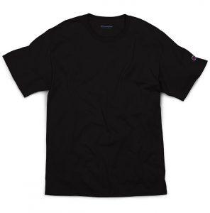Champion cotton shirt in black