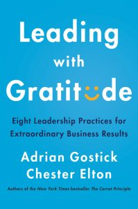 Book cover for Leading with Gratitude
