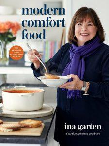 Book cover for Ina Garten's Modern Comfort Food