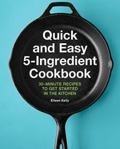 Book cover for Quick and Easy 5-Ingredient Cookbook