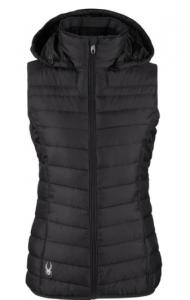 Spyder black puffer vest