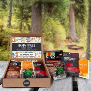 healthy snacks gift kit