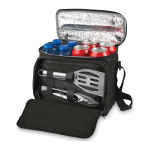 BBQ Set With Cooler Bag includes tongs and spatula
