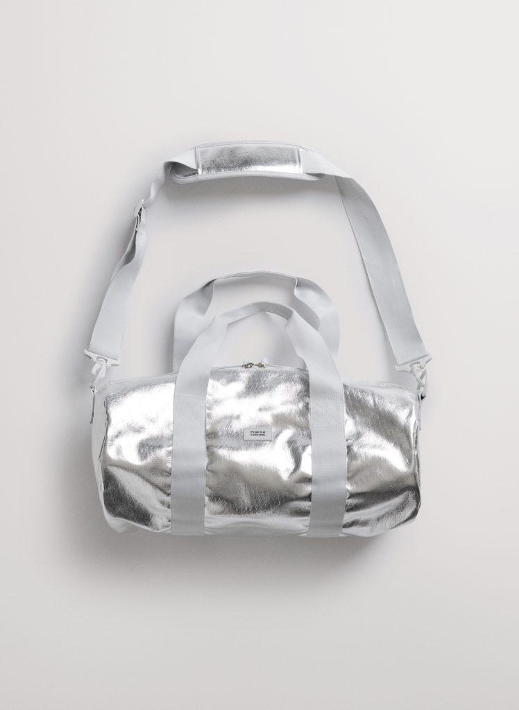 Chipotle Foil Gym Duffle Bag